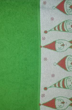 Оf- Полотенце махровое Дед мороз