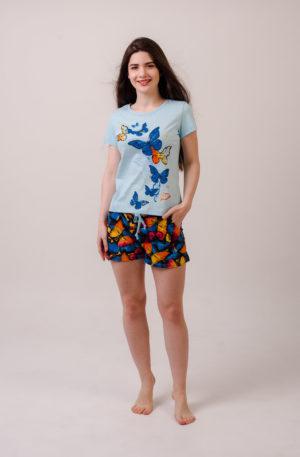 М-ЛИМОННИЦА костюм женский голубой