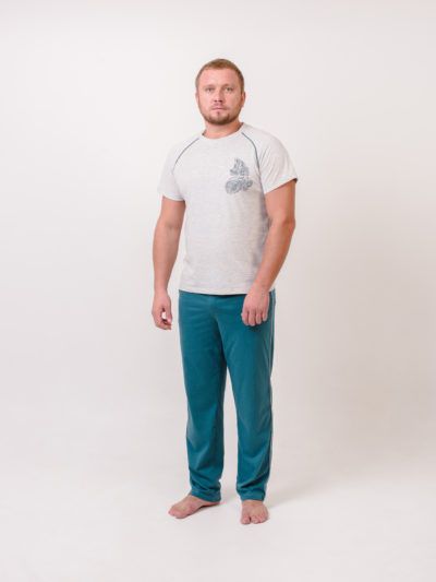 М-ЧАРОДЕЙ костюм мужской серый