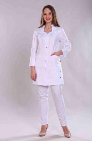 Халат медицинский жен. М-067 ткань Элит-145